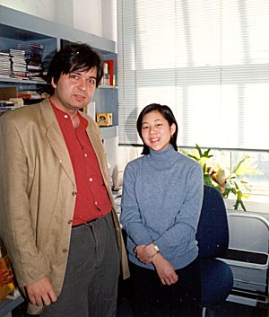 Frank Oteri and Lisa Kang