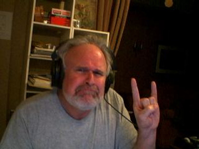 Jim by the webcam