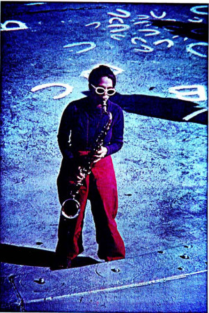 MJ on Sax